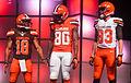 Gabriel Bowe Hartline Cleveland Browns New Uniform Unveiling (17153555281).jpg