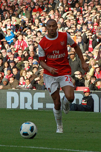 Gaël Clichy - Clichy with Arsenal