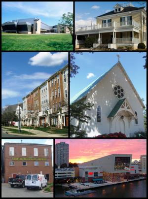 Gaithersburg, Maryland - Image: Gaithersburg, Maryland, Infobox Montage 1