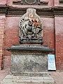 Ganesh statue at the entrance of Sundari Chowk, Patan Durbar Square.jpg