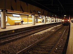 Gare de Saint-Michel – Notre-Dame - RER C platforms