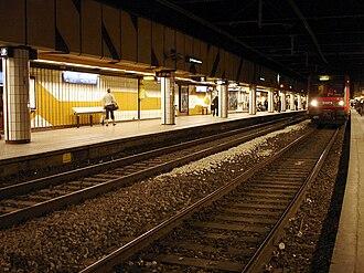 Saint-Michel – Notre-Dame - RER C platforms