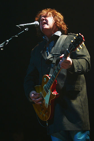 Gary Moore - Moore performing, 23 October 2010