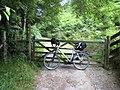 Gate on the Wye Valley Walk - geograph.org.uk - 903136.jpg