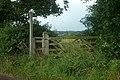 Gate to a footpath - geograph.org.uk - 1440320.jpg