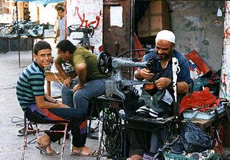 Economy of Gaza City - Backyard industry