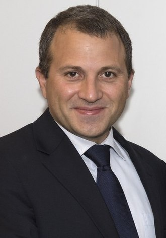 2018 Lebanese general election - Image: Gebran Bassil