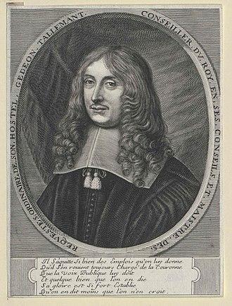 Gédéon Tallemant des Réaux - Gédéon Tallemant, Sieur Des Réaux