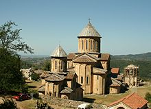 Gelati monastery. A general view (Photo A. Muhranoff).jpg