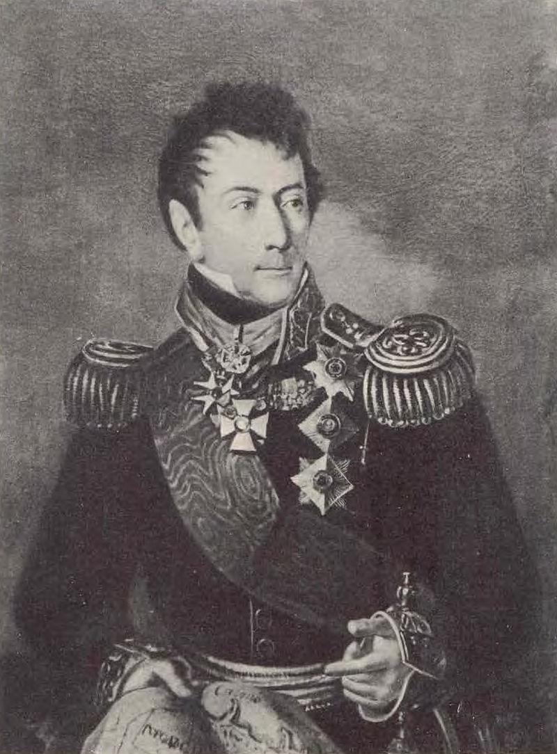 Генерал Александр Федорович Ланжерон от Рейгеля (1819, Одесса) .jpg