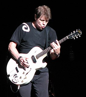 George Thorogood American blues rock vocalist/guitarist