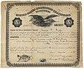 George F Frye Master of Steam Vessels Certificate, 1873 (MOHAI 12450).jpg
