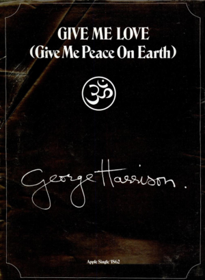 Give Me Love (Give Me Peace on Earth) - Trade ad for the single, May 1973