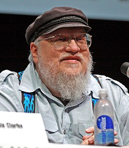 George R.R. Martin yn july 2013.