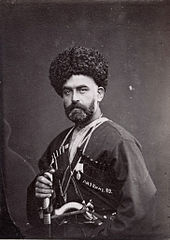 Georgian. 1880-1890. Alexandre Roinashvili. Tbilisi History Museum Collection. B-W.jpg