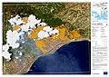 Geraneia fire delianation map EMSR300.jpg