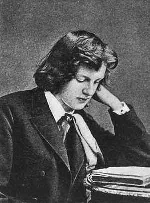 Gerhart Hauptmann - Hauptmann at the age of seventeen.