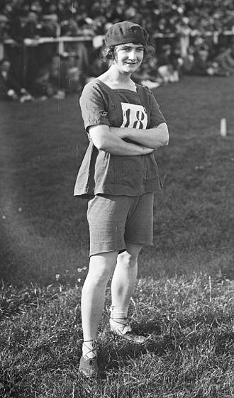 1921 Women's Olympiad -  Germaine Delapierre