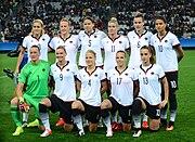 German football team 2016 Olympics women