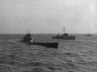 German submarine <i>U-1228</i> submarine in WW2