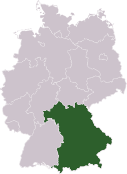 Federal states of Germany: Bavaria