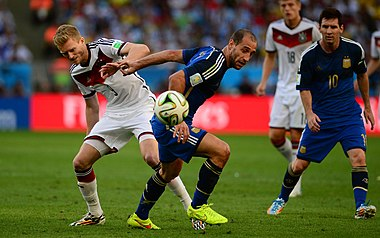 Germany and Argentina face off in the final of the World Cup 2014 09.jpg