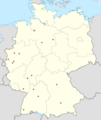 Germany location map-bundesliga1.png