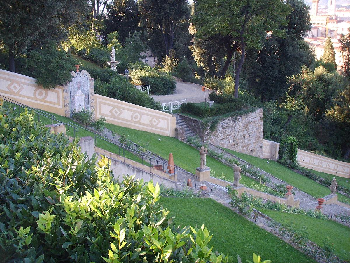 Giardino bardini wikipedia - Immagini di ville con giardino ...