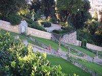 Giardino bardini, terrazzamento 01.JPG