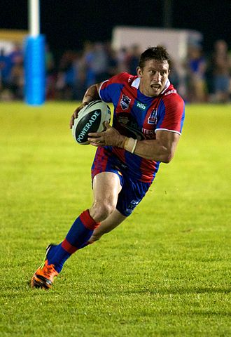 Kurt Gidley - Gidley playing for the Knights in 2012.