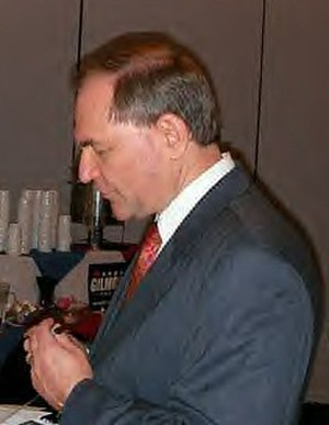 Jim Gilmore presidential campaign, 2008 - Gilmore at a campaign event in Des Moines, April 2007
