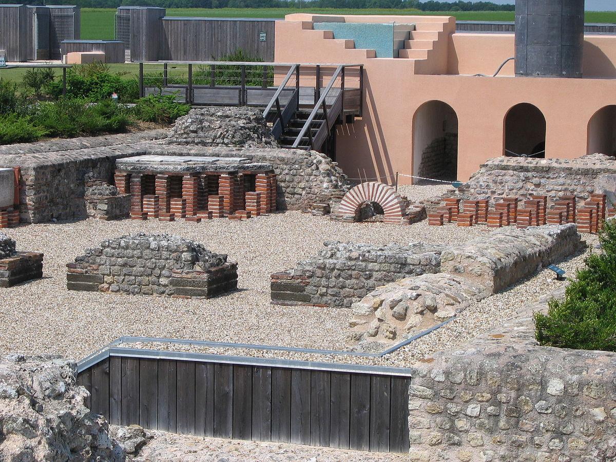 Thermes romains du vieil vreux wikip dia for Piscine d evreux