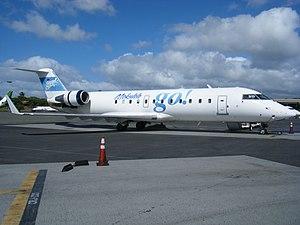 Go! (airline) - go! Mokulele CRJ-200 at Honolulu International Airport