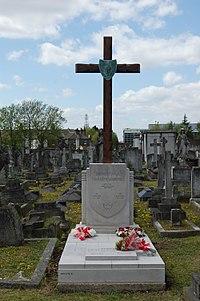 Grób Krystyny Skarbek na cmentarzu Kensal Green St. Mary w północnym Londynie.JPG