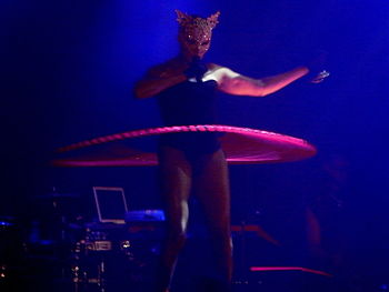 "English: Grace Jones on her ""Hurricane&qu..."