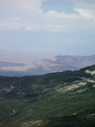 Mountain States - The Grand Mesa in Western Colorado.