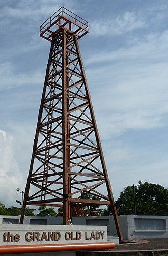 Mining in Malaysia - Petroleum Museum in Sarawak.