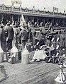 Grand Prix de l'ACF 1906, le ravitaillement en essence à La Motricine.jpg