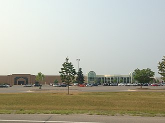 Grand Traverse Mall - South side of Grand Traverse Mall from South Airport Road