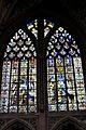 Grand vitrail de 1531 avec le donateur Jacques de Hornes dans l'Église Saint-Jacques-le-Mineur de Liège.jpg