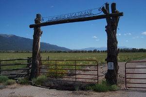 Luis Maria Baca Grant No. 4 - Headquarters gate