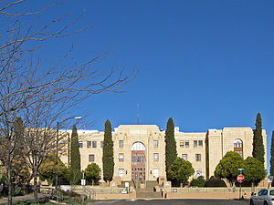 Grant County, New Mexico - Image: Grant County New Mexico Court House