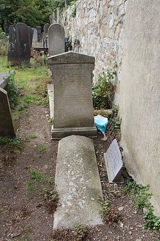 Joseph Holt (rebel) - Grave of United Irishman Joseph Holt (1756-1826), Carrickbrennan Cemetery, Monkstown, Co. Dublin.