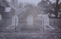 Graves of Maharaja Duleep Singh along with the grave of his wife Maharani Bamba, and his son Prince Edward Albert Duleep Singh at Eldeven Church.png