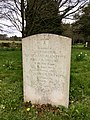 Gravestone of Richard Alan and Diana Gwyneth Fyffe, St Mary Magdalene Church, Great Hampden, March 2020.jpg