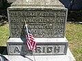 Gravestone of the Richard and Hannah Aldrich family.jpg