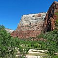 Great White Throne from Virgin River, Zion 5-14 (19018208483).jpg