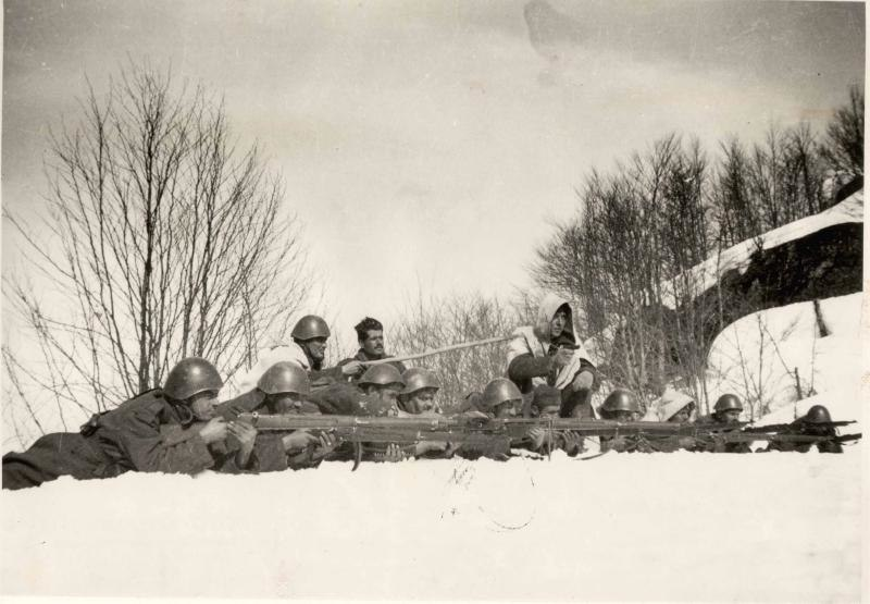 Greek Army during Primavera Offensive Klisura March 1941