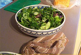Salad - A green salad