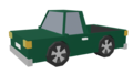 Green truck left side animation low polygon.png